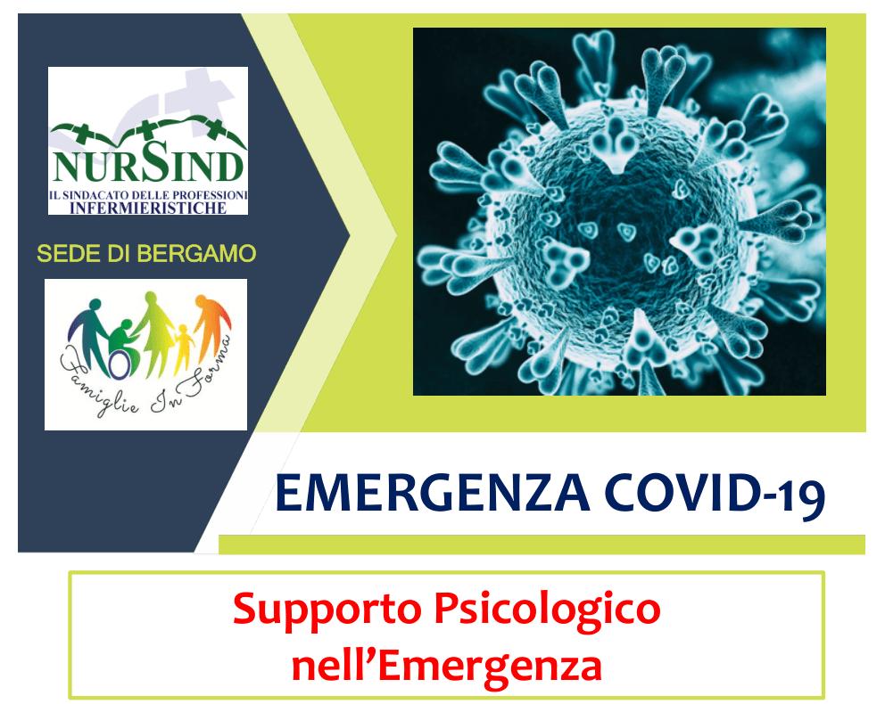 Emergenza COVID-19 - Supporto Psicologico
