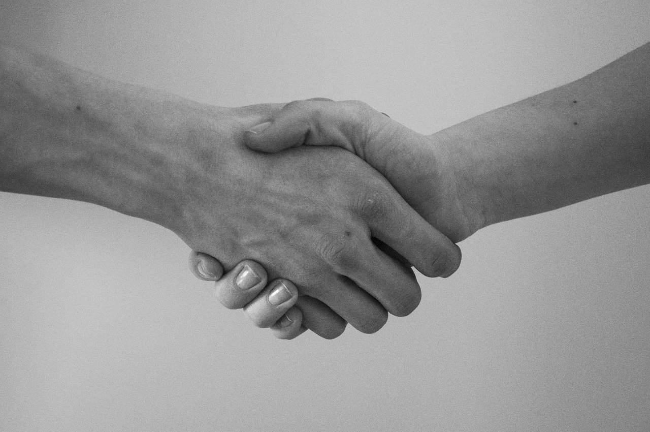 hand, greeting, agreement