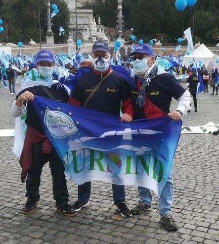 MANIFESTAZIONE ROMA 15/10/2020